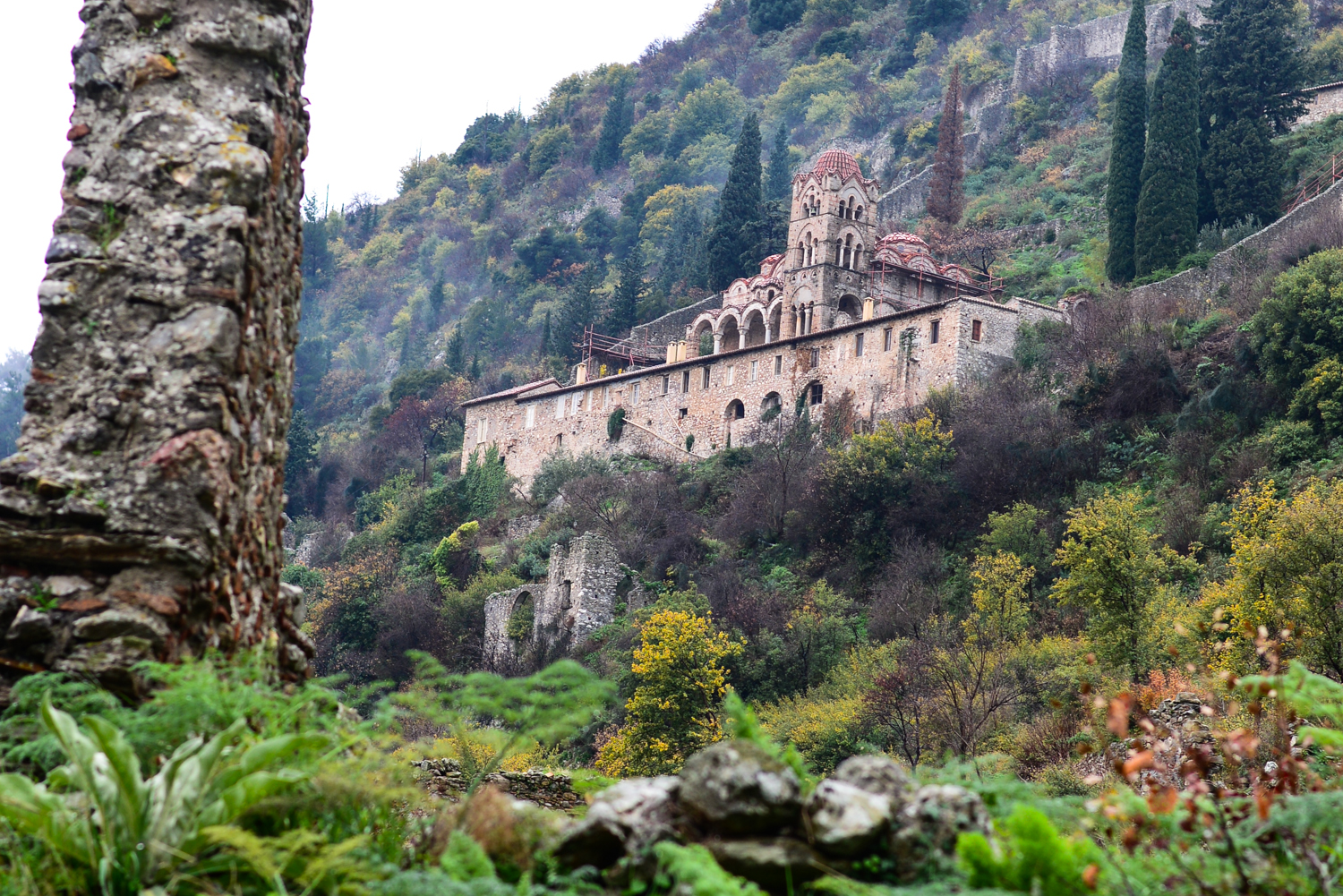 Byzantine Castle-Town of Mystras - GTP